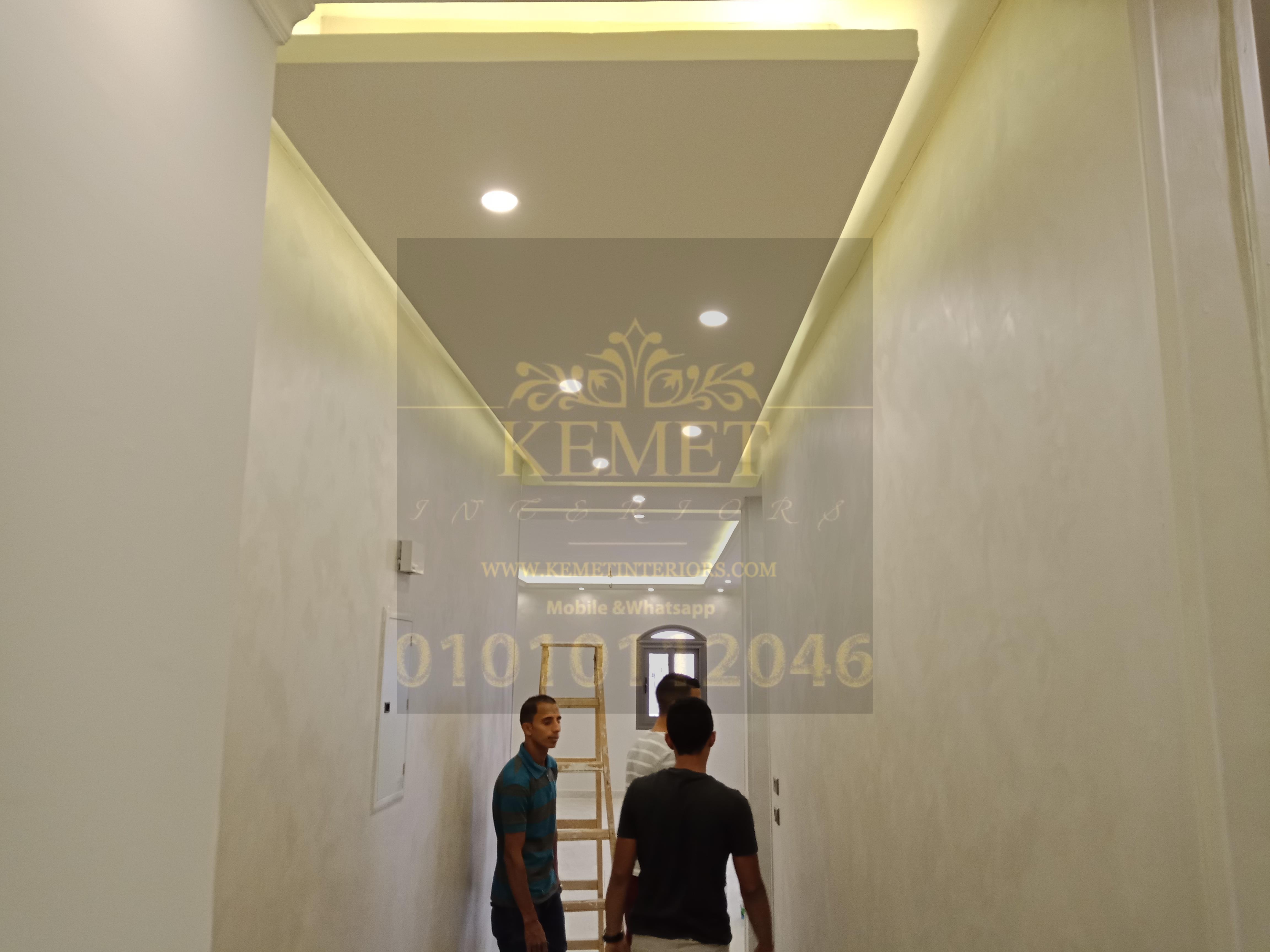 ديكورات جبس بورد اسقف راقيه بسيطة 2020 Kemet Ceiling C 01010112046